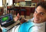 FOTO: Rafael Nadal e gata de startul turneului de poker