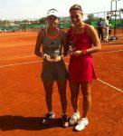 FOTO: Raluca Olaru cu trofeul cucerit de ziua sa, în Antalya