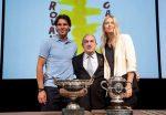FOTOGALERIE: Rafael Nadal și Maria Sharapova la tragerea la sorți de la Roland Garros