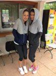 FOTO: Sorana Cîrstea şi Ana Ivanovic se ascund de ploaie cum pot la Roland Garros