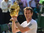 FOTOGALERIE: Andy Murray cu trofeul cucerit în premieră la Wimbledon, primul britanic care reușește acest lucru după 77 de ani!