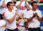FOTO: O veste extraordinară: Ross Hutchins a revenit la antrenamente, alături de echipa de Cupa Davis!