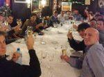 POZA ZILEI, 16 decembrie 2013: Rafael Nadal la cina de Crăciun alături de echipa sa