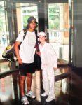 FOTO: Patrick Ciorcilă, la 11 ani, alături de idolul său, Rafael Nadal