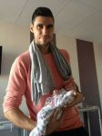 FOTO: Victor Hănescu a devenit tată! Prima poză cu micuţul Luca Andrei