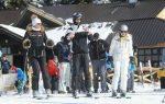 FOTOGALERIE: Novak Djokovic şi logodnica lui, Jelena Ristic, la schi