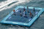 POZA ZILEI, 25 februarie 2014: Grigor Dimitrov și Eugenie Bouchard au jucat tenis pe apă la Acapulco