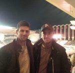 FOTO: Novak Djokovic și Viktor Troicki în tribune la meciul de fotbal Monaco – PSG