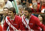 POZA ZILEI, 2 februarie 2014: Roger Federer și Stan Wawrinka, șefi de galerie în Cupa Davis