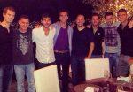 FOTO: Horia Tecău, alături de Andy Murray, la ziua lui Ross Hutchins