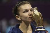 simona halep doha tenis trofeu