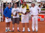 FOTOGALERIE: Ilie Năstase, învins de Manolo Santana în meciul stelelor la Madrid