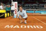 FOTOGALERIE: Imagini cu Rafael Nadal și trofeul cucerit la Madrid