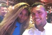 Serena Williams si Jo Wilfried Tsonga