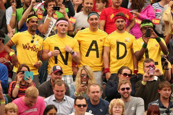 nadal fans wimbledon