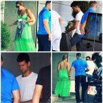POZA ZILEI, 26 iulie 2014: Novak Djokovic și soția lui, Jelena, au plecat spre America de Nord