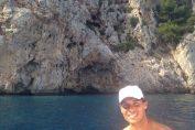 Rafael Nadal face plaja la Mallorca