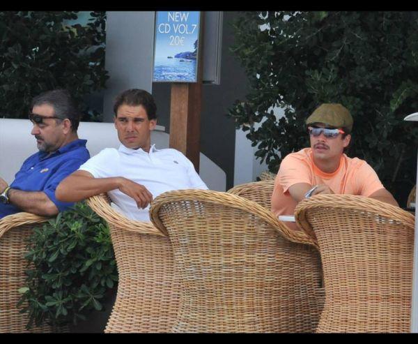 Rafael Nadal la Ibiza