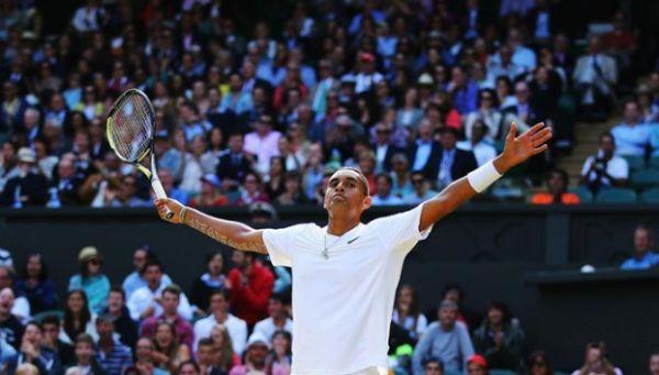 Nick Kyrgios sferturi Wimbledon nadal
