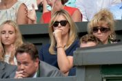 Maria Sharapova in tribune la Wimbledon
