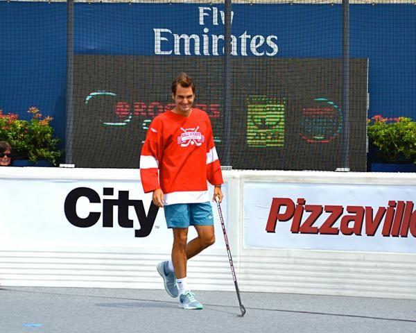 Roger Federer, hocheist de ocazie la Toronto