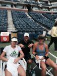 FOTO: Simona Halep, după antrenamentul de azi, de la US Open