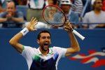 POZA ZILEI, 7 septembrie 2014: Marin Cilic după victoria cu Federer, care l-a dus în finala US Open