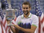 FOTOGALERIE: Imagini cu Marin Cilic și trofeul cucerit în premieră la US Open