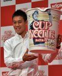 FOTO: Kei Nishikori a primit o cutie uriașă de noodle din partea unui sponsor