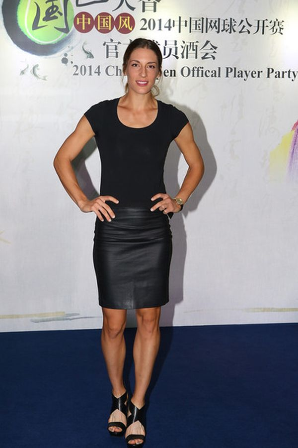 Andreea Petkovic, players party Beijing 2014