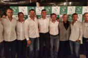 Echipa de Cupa Davis a Romaniei la banchetul oficial de dinaintea meciului cu Suedia