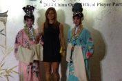 Simona Halep, intampinata traditional la players party WTA Beijing 2014