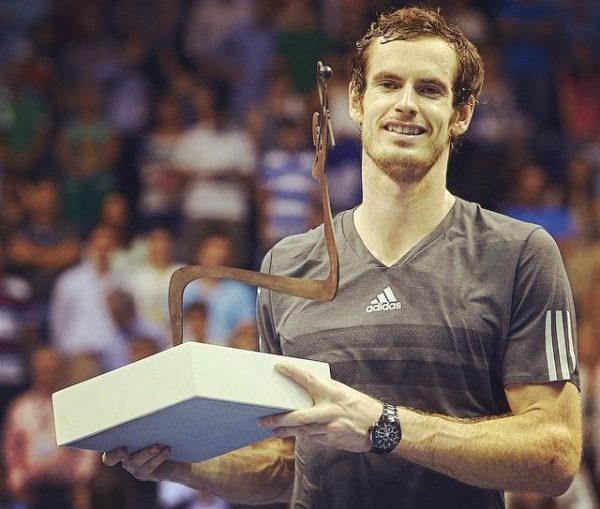 Andy Murray trofeu Valencia ATP
