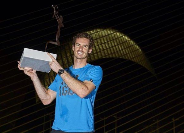 Andy Murray Valencia trofeu