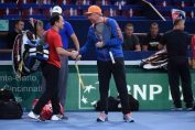 Michael Chang si Boris Becker la Paris