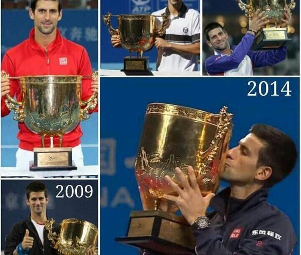 Djokovic 5 trofee Beijing ATP