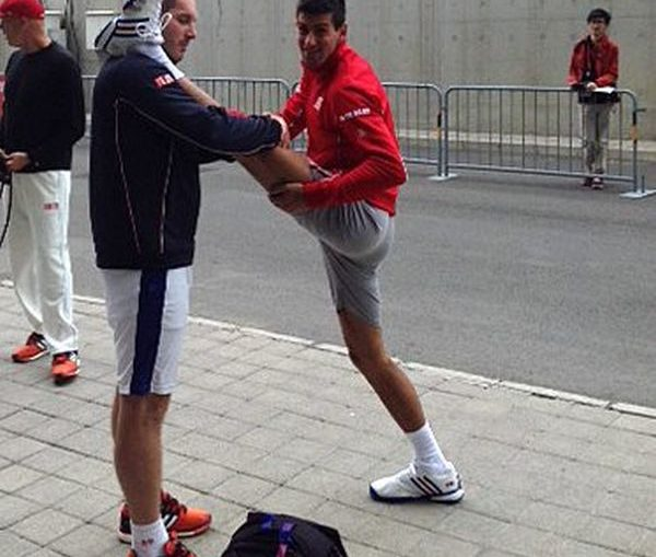 Novak Djokovic mobilitate China Open
