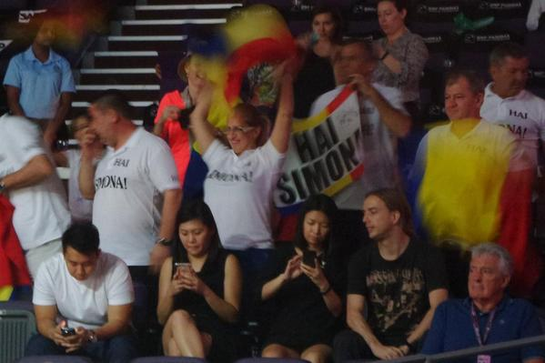 Fani Simona Halep Turneul Campioanelor Singapore