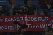 Mesaj fani chinezi shanghai ATP Federer