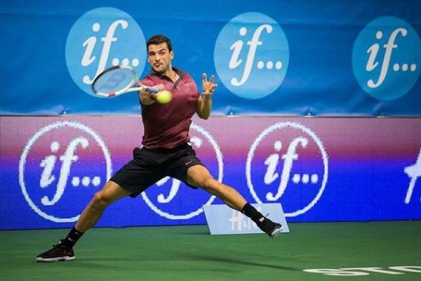 Grigor Dimitrov la Stockholm ATP