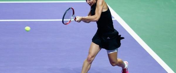 Simona Halep a pierdut azi meciul cu Ana Ivanovic din ultima etapă a grupei Albe a Turneului Campioanelor de la Singapore, dar a câștigat grupa. Iată câteva imagini cu Simona...