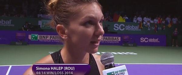 Simona Halep a debutat cu o victorie mare la Turneul Campioanelor, o victorie care o apropie de calificarea în semifinalele celei mai importante competiții din lumea tenisului profesionist feminin. La...