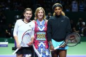 Simona Halep Serena Williams Singapore
