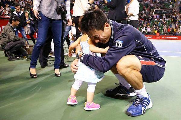 Kei Nishikori fiica Michael Chang