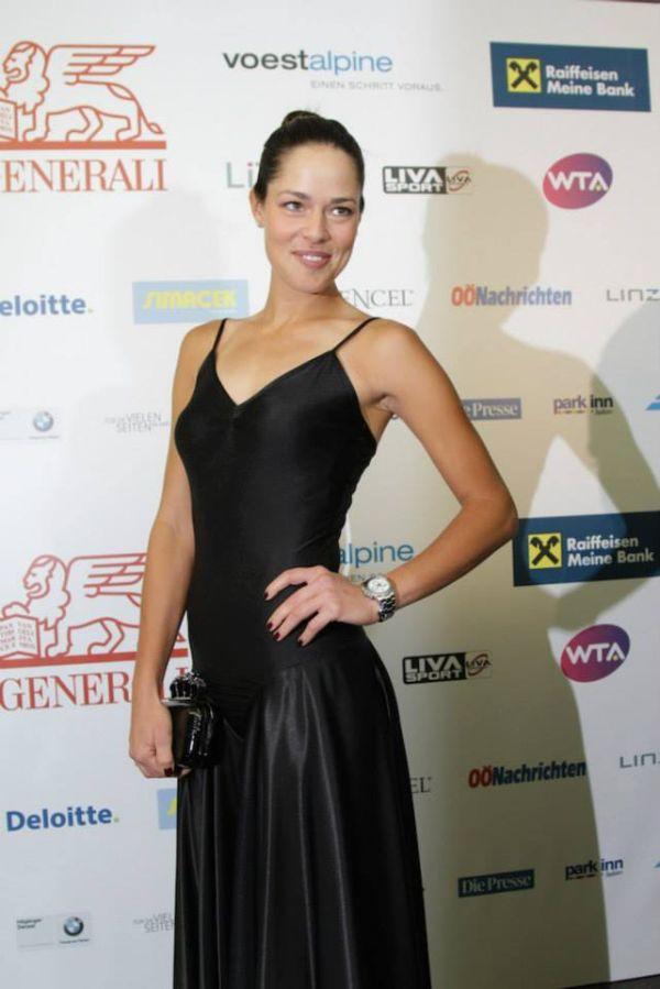 Ana Ivanovic la players party Linz WTA