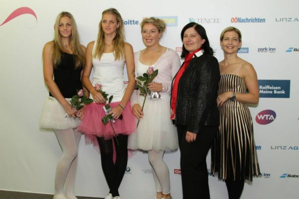 Surorile Pliskova la Players party Linz WTA