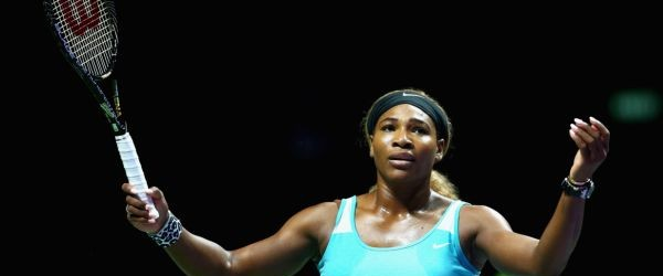 """Serena Williams nu s-a ascuns după deget şi a recunoscut superioritatea netă a Simonei Halep după victoria pe care românca a obţinut-o azi, 6-0, 6-2, la Turneul Campioanelor. """"Jocul meu..."""