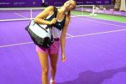 Maria Sharapova la Singapore