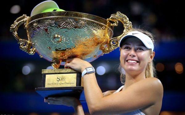 Maria Sharapova campioana trofeu Beijing WTA