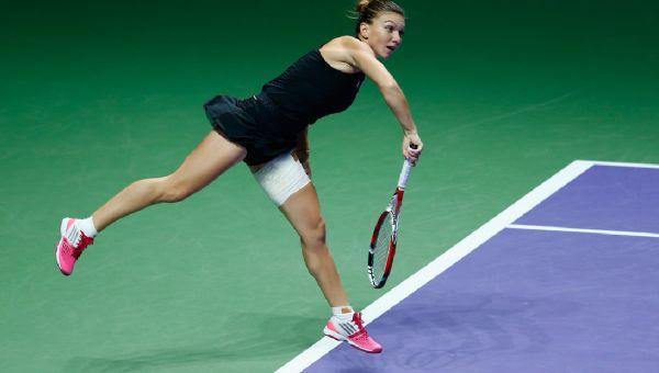 Simona Halep la Turneul Campioanelor din Singapore